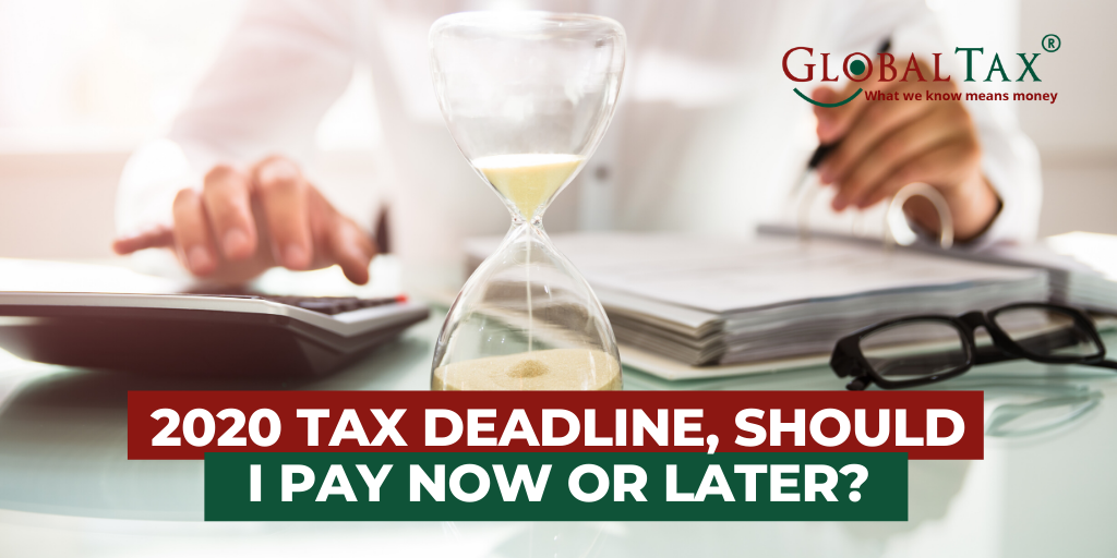 2020 tax deadline